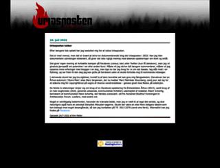 uriasposten.net screenshot