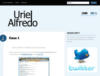 urielalfredo.com screenshot