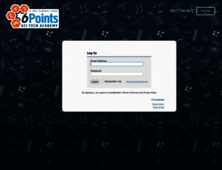 urjscitech.campintouch.com screenshot