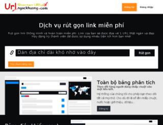 url.ngockhuong.com screenshot