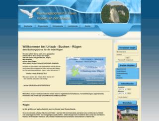 urlaub-buchen-ruegen.de screenshot