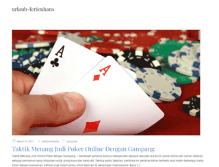 urlaub-ferienhaus.org screenshot