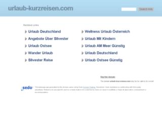urlaub-kurzreisen.com screenshot