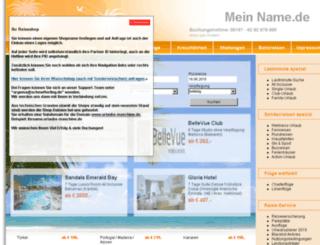 urlaubs-maschine.de screenshot