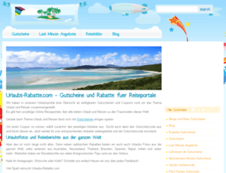 urlaubs-rabatte.com screenshot