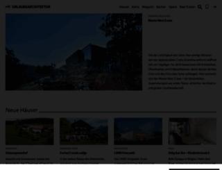 urlaubsarchitektur.de screenshot