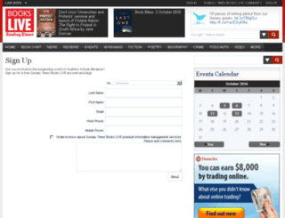 urlnews.book.co.za screenshot