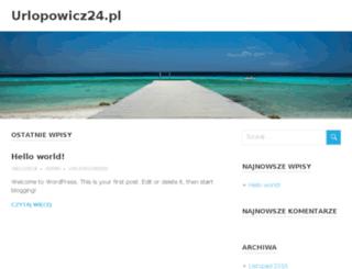 urlopowicz24.pl screenshot