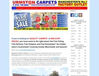 urmstoncarpets.co.uk screenshot