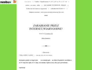 uroczymisio.wordpress.com screenshot