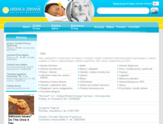 urodaizdrowie.org screenshot