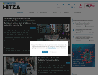 urolakosta.hitza.eus screenshot