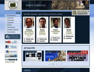 urologie-chu-mondor.aphp.fr screenshot