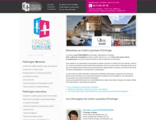 urologues-lyon.fr screenshot