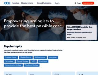 uroweb.org screenshot