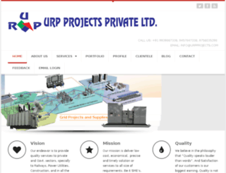 urpprojects.com screenshot