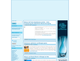 urquellwasser.eu screenshot