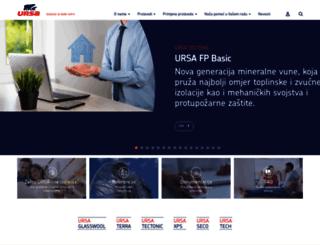 ursa.com.hr screenshot