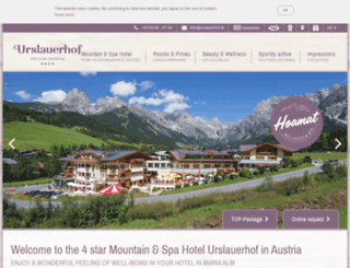 urslauerhof.at screenshot