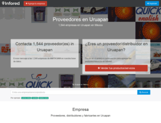 uruapan.infored.com.mx screenshot