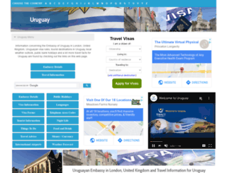 uruguay.embassyhomepage.com screenshot