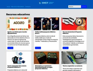 uruguayeduca.edu.uy screenshot