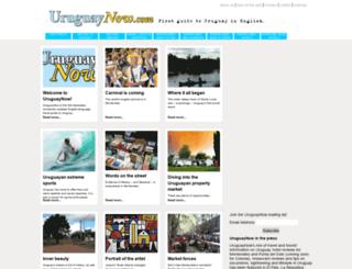 uruguaynow.com screenshot