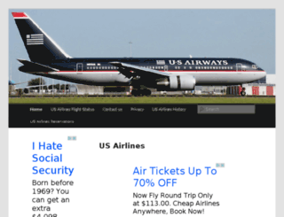 us-airlines.org screenshot