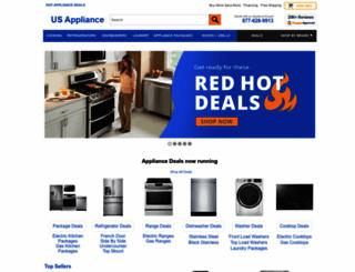 us-appliance.com screenshot