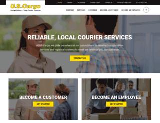 us-cargo.com screenshot