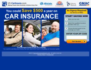us-carinsure.com screenshot
