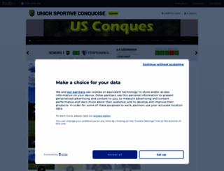 us-conques.footeo.com screenshot
