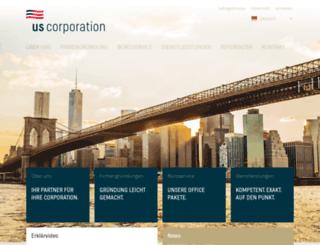 us-corporation.org screenshot