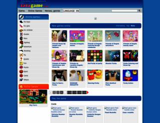 us-en.zazagame.com screenshot