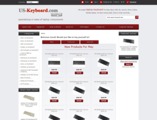 us-keyboard.com screenshot