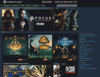 us-maniaplanet.gamesplanet.com screenshot