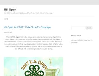 us-opengolf.org screenshot