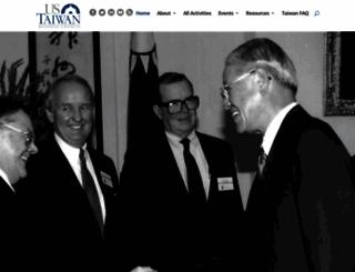 us-taiwan.org screenshot