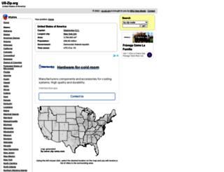us-zip.org screenshot