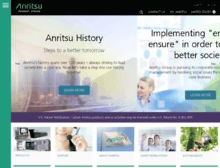 us.anritsu.com screenshot
