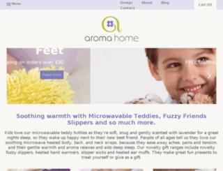 us.aromahome.com screenshot