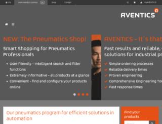 us.aventics.com screenshot