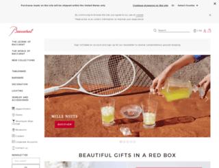 us.baccarat.com screenshot