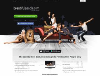 us.beautifulpeople.net screenshot