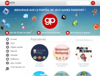 us.gamespassport.com screenshot