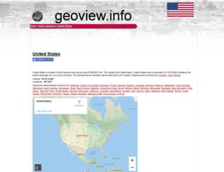 us.geoview.info screenshot