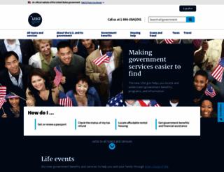 us.gov screenshot