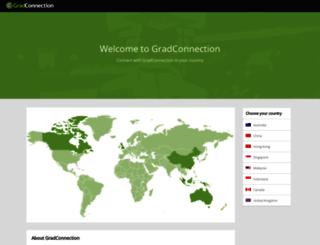 us.gradconnection.com screenshot