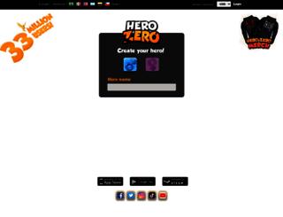 us.herozerogame.com screenshot