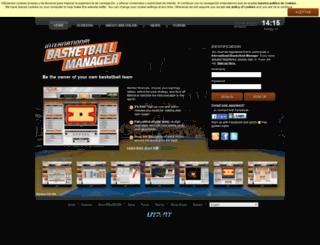 us.ibasketmanager.com screenshot